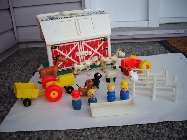FISHER PRICE VINTAGE BARN, ACCES