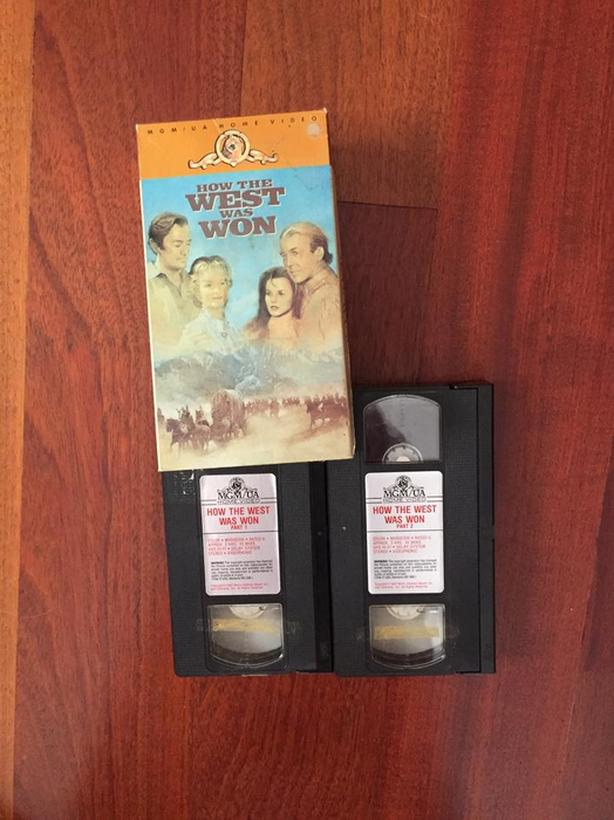 How the West Was Won, VHS 2-Tape Box set