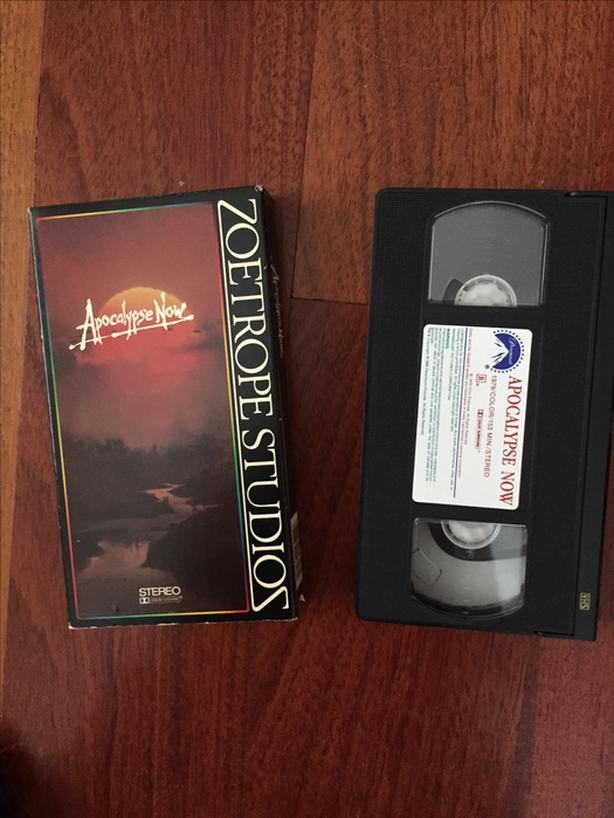 Apocalypse Now Francis Ford Coppola VHS tape RARE movie