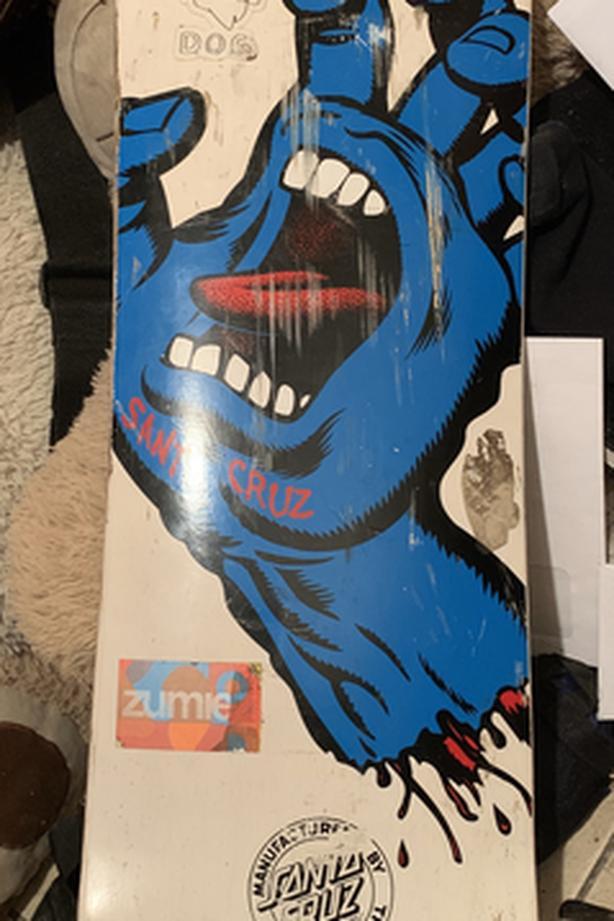 Santa Cruz - Screaming Hand Longboard