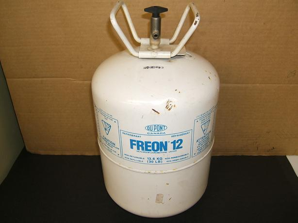MECHANICS' SPECIAL: EMPTY, CLEAN, 1.5 GAL.,HARD TO FIND FREON TANK