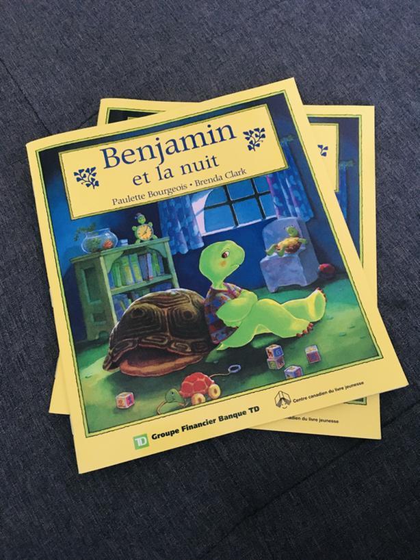 2 Benjamin Easy French Books