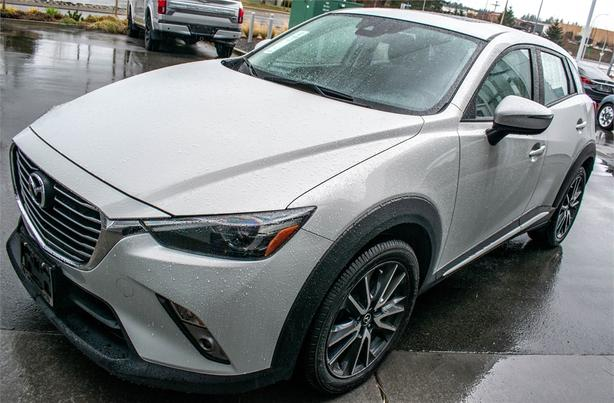 2018 Mazda CX-3 GT 6-Speed SKYACTIV-Drive Automatic AWD