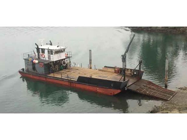 72' Steel Landing Craft For Sale - Pintail