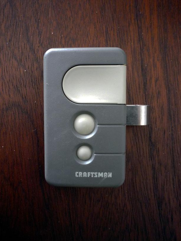 Craftsman Garage Door Remote Control