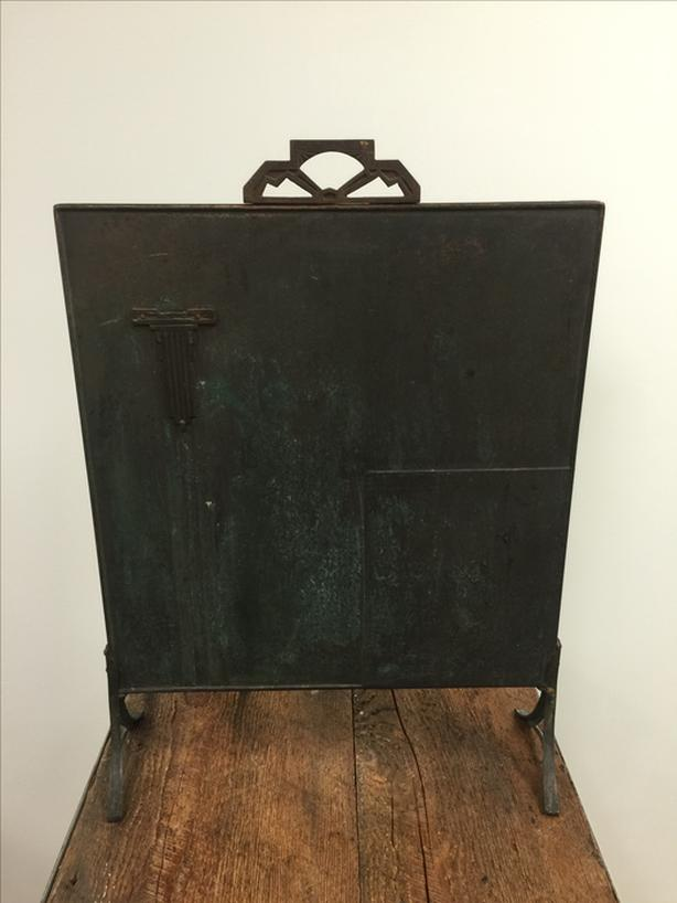 Vintage 'Art Deco' Fireplace Screen
