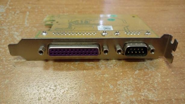 SUNIX MIO6469A 1-port RS-232 & 1-port Parallel PCI Express Multi-I/O