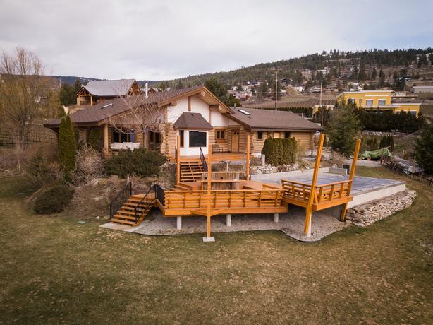 Gorgeous Lake View Home w/ 4.8 Acre Vineyard