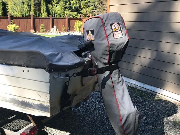 COPE welded aluminum boat