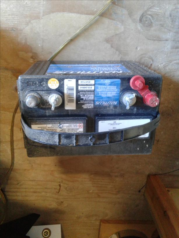 Looking to trade motor and battery for chainsaw.