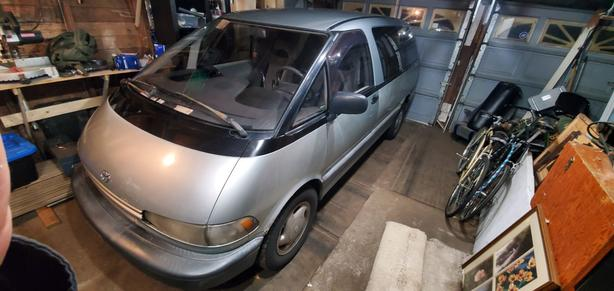 Toyota Previa Parting Out
