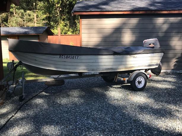 COPE aluminum boat