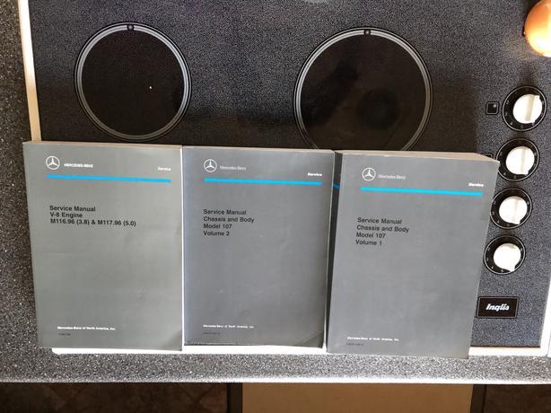 Mercedes Model 107 Manuals