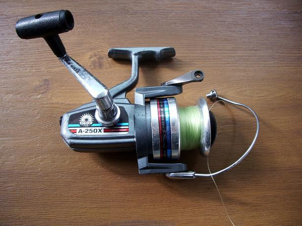 Classic Shimano A-250X Spinning Reel, As Is