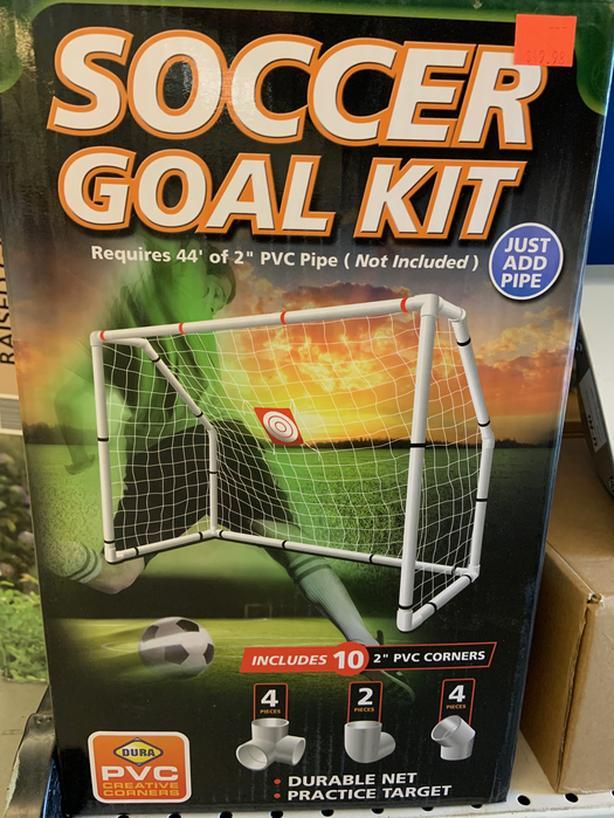 Soccer goal kit