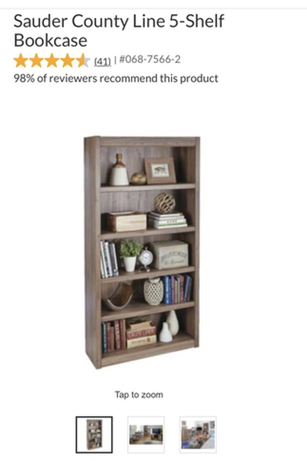 Canadian Tire bookcase