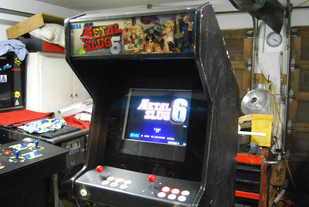 Arcade Cabinet 645 games in 1