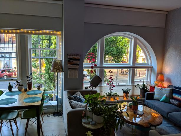 Furnished all-inclusive ultra-central  historic loft-space , private parking