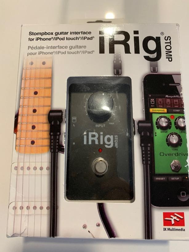 IRIG Stomp ios iphone ipod ipad interface