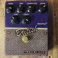 #137194-1 Reduced in price Tech 21 Purple British V2 Distortion effect pedal