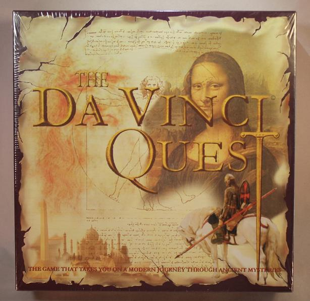 THE DAVINCI QUEST BOARD GAME