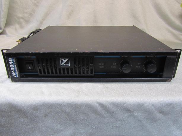 #162677-1 Yorkville AP4040 1200 watts X 2 @ 4 ohms Professional Sound Amp