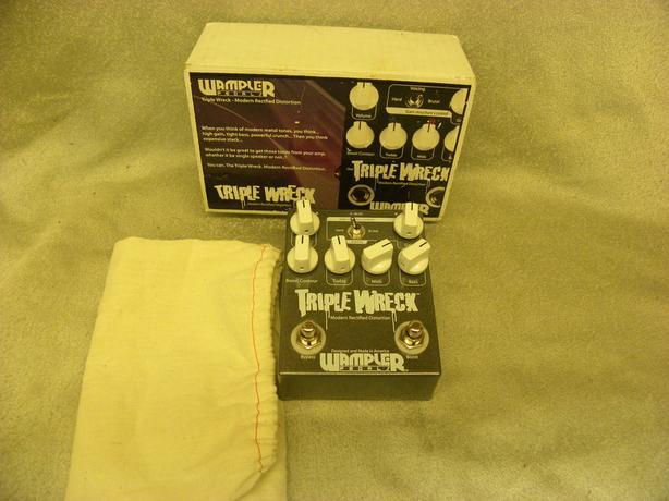 #164508-1 Wampler Triple Wreck modern rectified distortion pedal