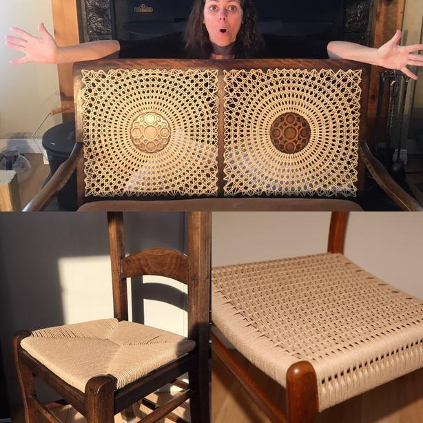 Caning Guelph - Cane, Rattan, Danish Cord Woven Chair Repair