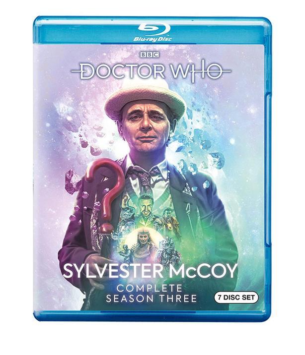 Doctor Who: Sylvester McCoy Season 3 on Blu-ray