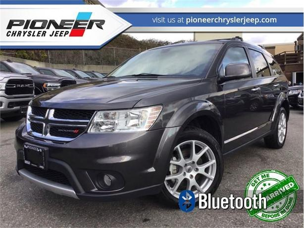 2019 Dodge Journey GT  -  Chrome Accents -  Leather Seats