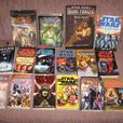 Lot of Star Wars Mass Effect Paperback Books