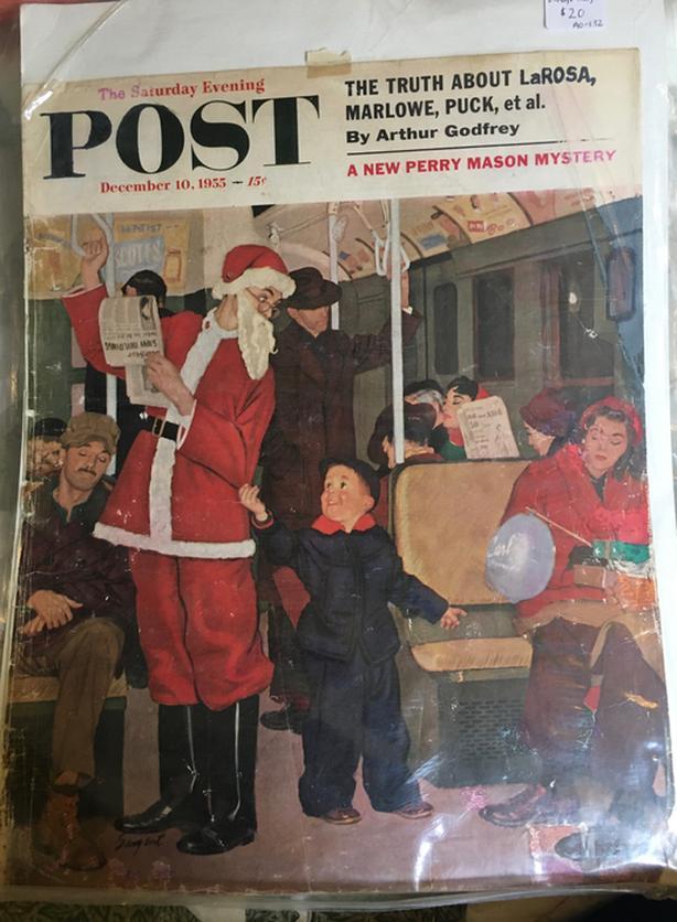 1955 Saturday Evening Post Magazine Cover