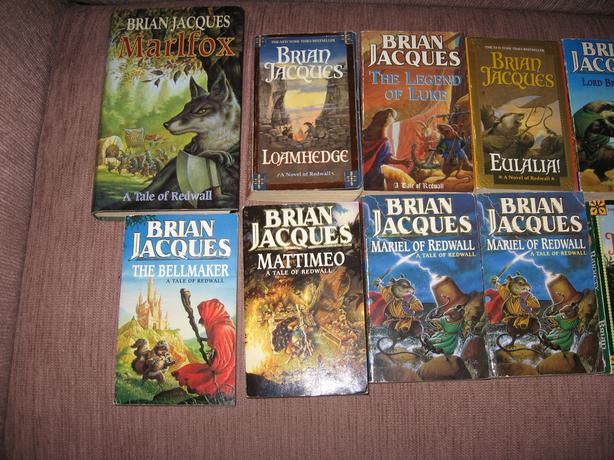 Lot of Redwall Series Books by Brian Jacques 21 Paperback 1 Hardback