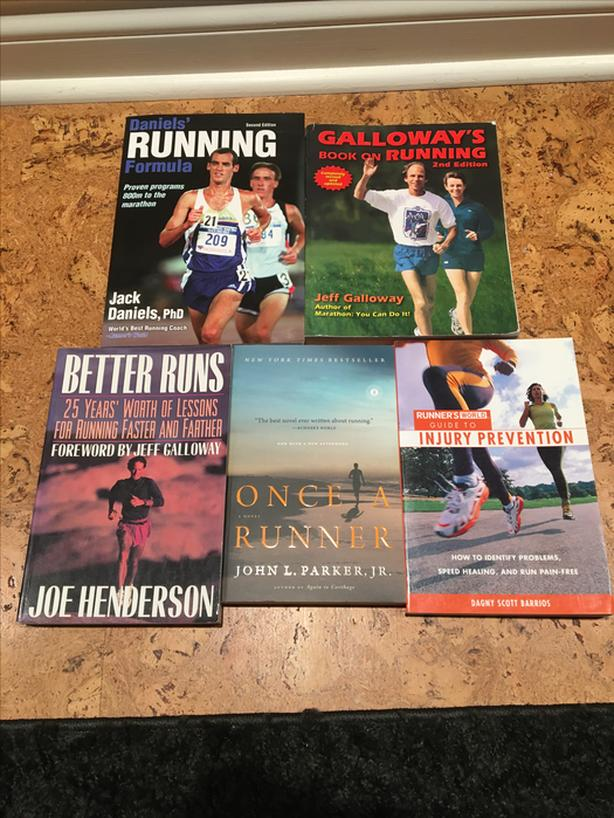 Collection of Awesome Running Books!!!