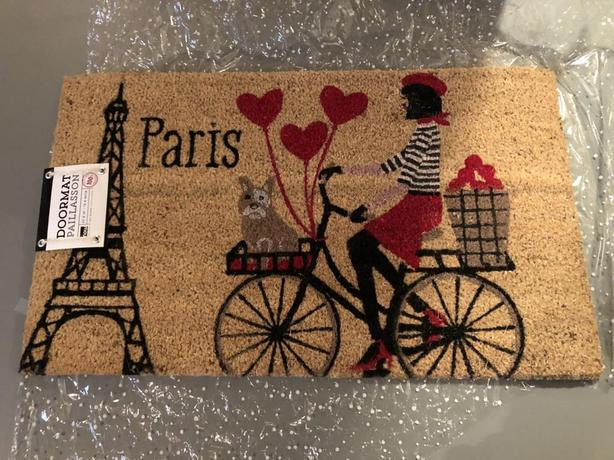 BRAND NEW PARIS DOORMAT