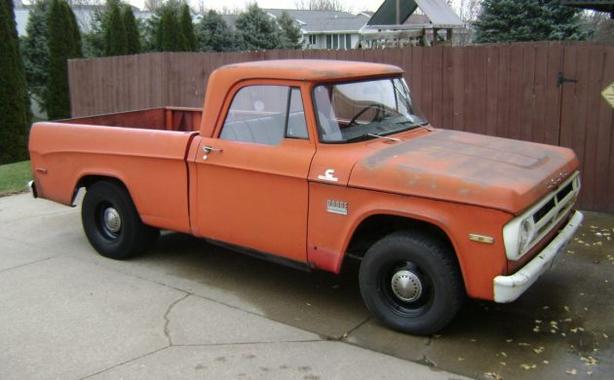 WANTED: WANTED: 1960's Dodge or oddball truck