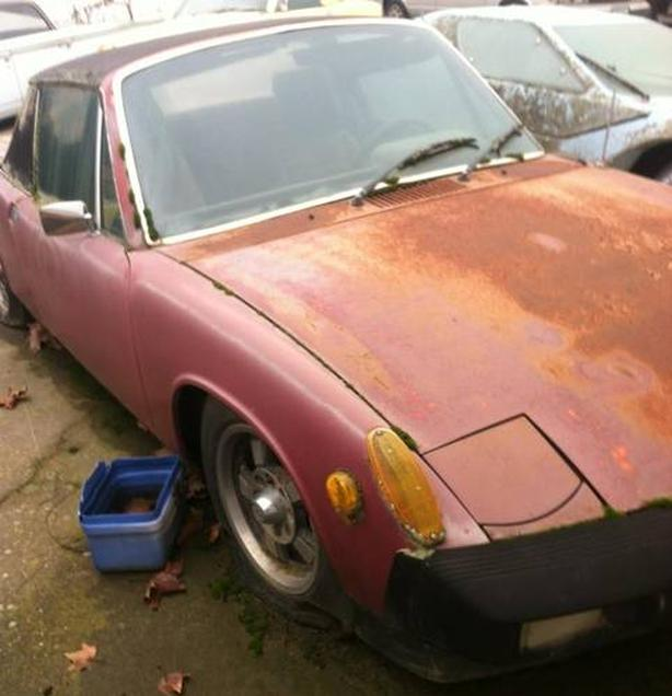 WANTED: Do you have a Porches 914 hiding away in a barn or shed? Any condition?