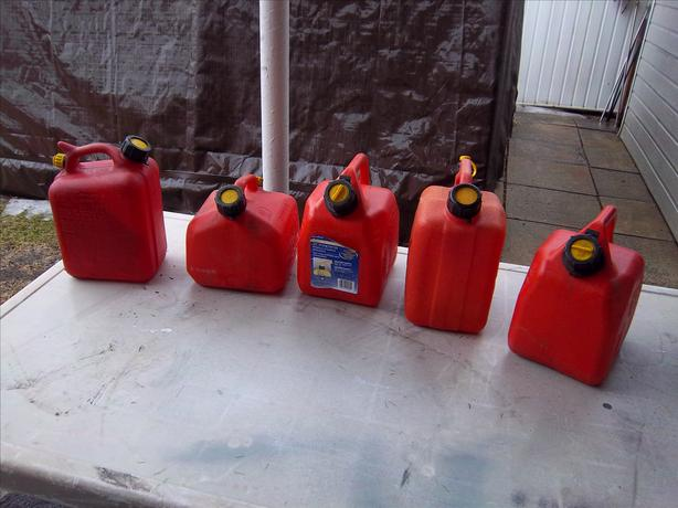 5-L gas cans