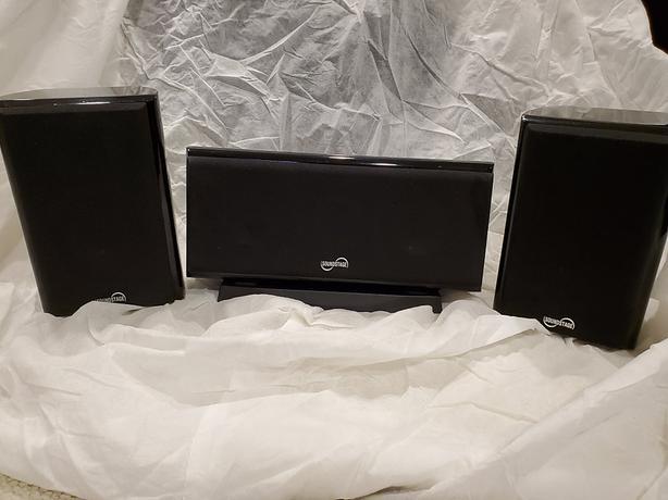 3-Way SoundStage CinemaStage ii Satellite Bookshelf Speakers
