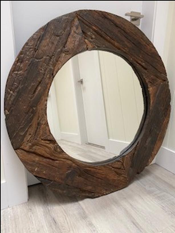 Barn Wood Plank Wall Mirror