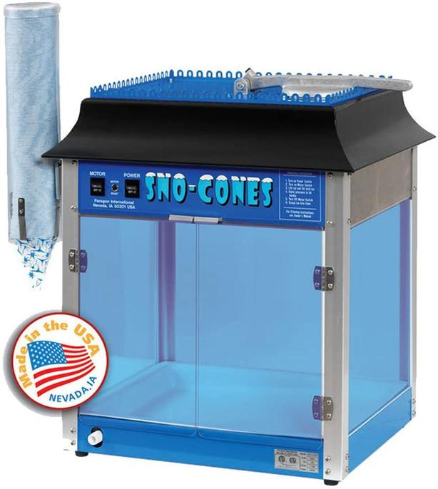 NEW - Paragon Storm Sno-Cone Machine (Commercial use)