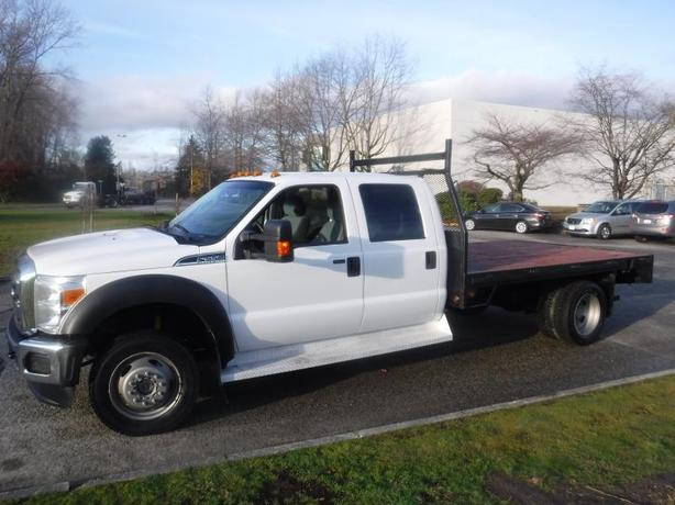 2014 Ford F-550 Flat Deck 11.5 Foot Crew Cab Dually 4WD