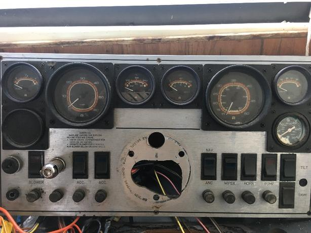 gauge and power panel
