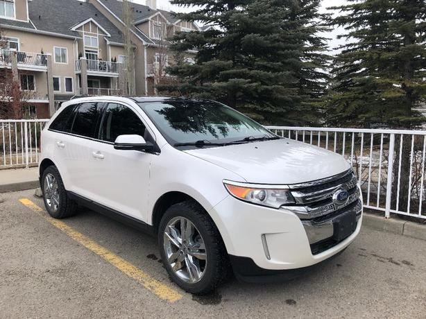 2013 White Ford Edge Limited - 88,661