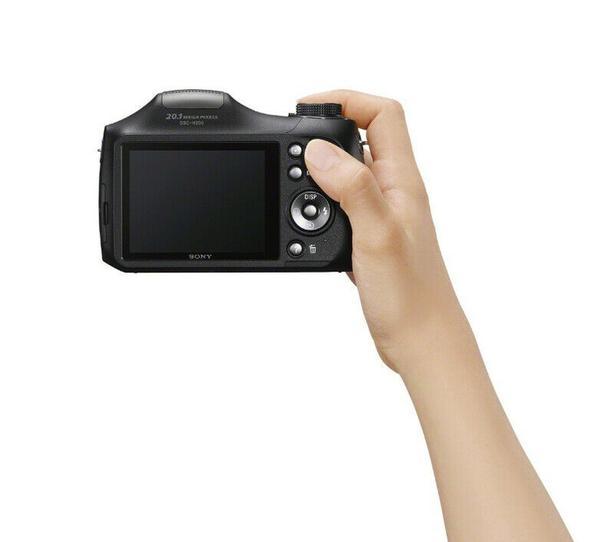 Sony Cybershot H200 Black 20.1MP 26X
