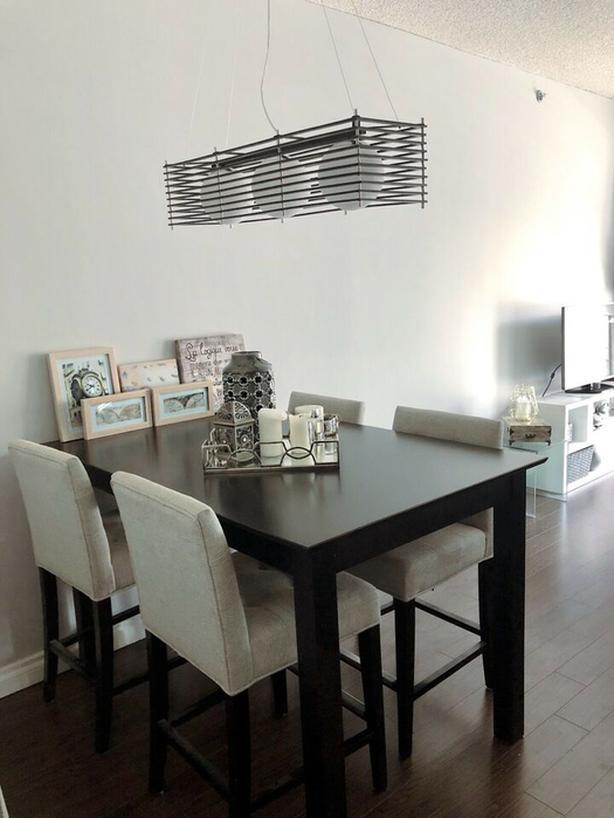 Bar height dining room set