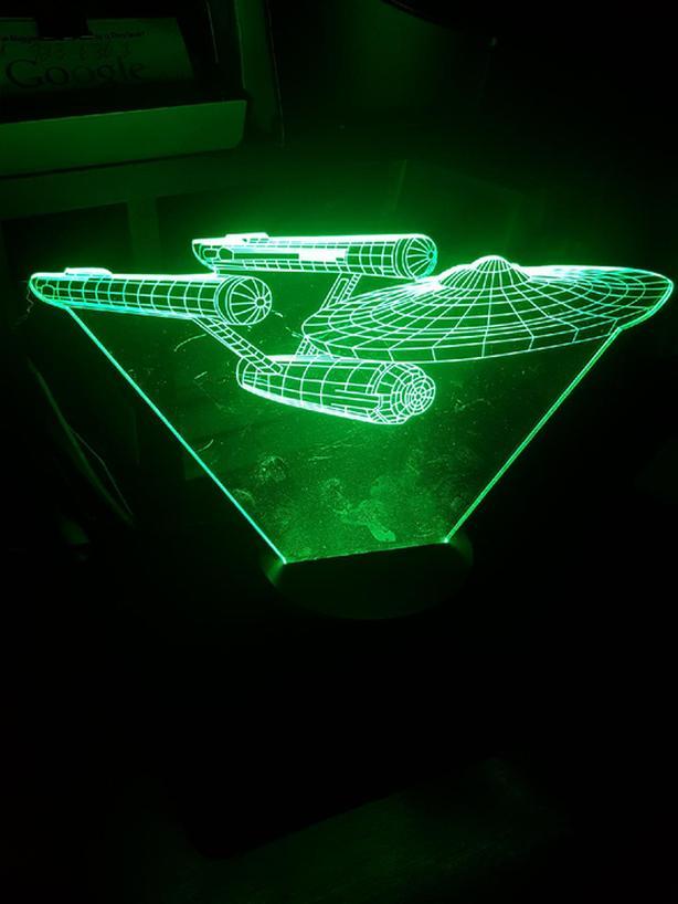 Star Trek Hologram Light