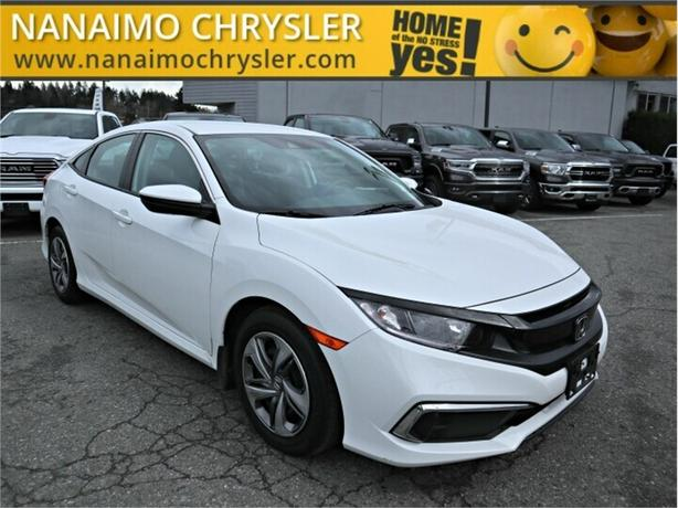 2019 Honda Civic LX No Accidents Rear View Backup Camera