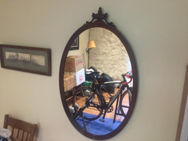Two Matching Antique Mirrors