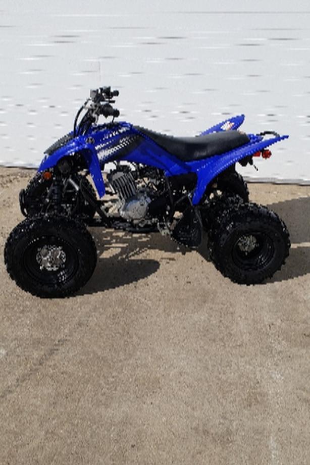 2012 Yamaha 125 Raptor